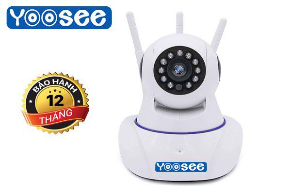 camera chống trộm trong nhà yoosee 3 râu