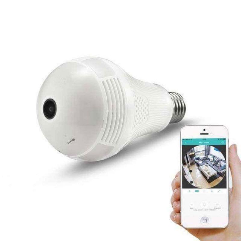 camera ngụy trang bóng đèn điện