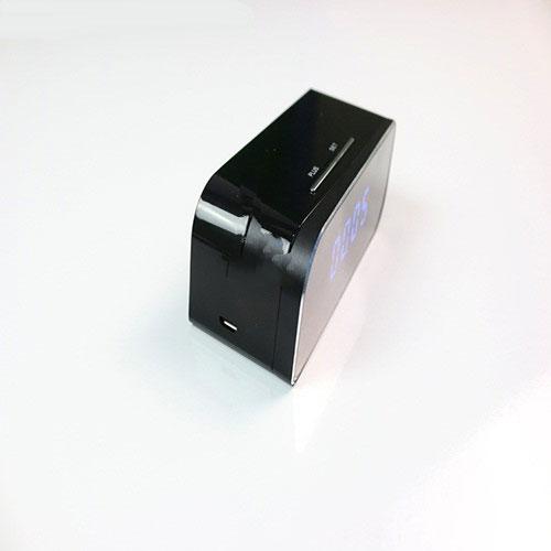 camera giấu kín ngụy trang đồng hồ để bàn