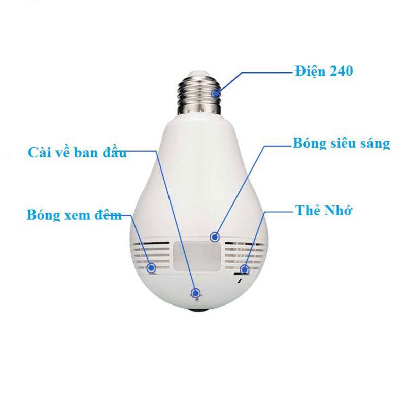 cấu tạo của camera ngụy trang bóng đèn điện