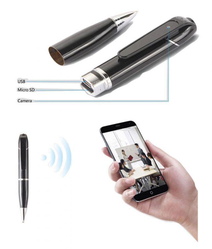 camera ngụy trang bút viết có wifi