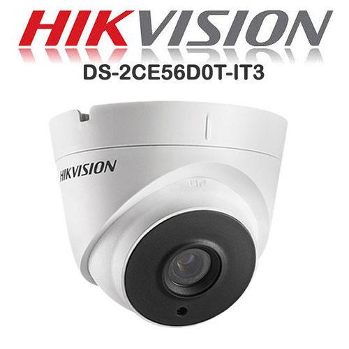 Camera Hikvision DS-2CE56D0T-IT3 Hồng Ngoại 40m 2.0 Full HD 1080P Dạng Dome