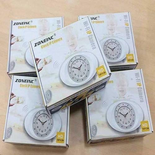 Camera IP Ngụy Trang Đồng Hồ Để Bàn WC50