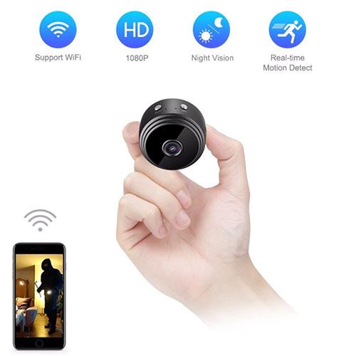 Camera Wifi Siêu Nhỏ A9 Quay Đêm Có Hồng Ngoại