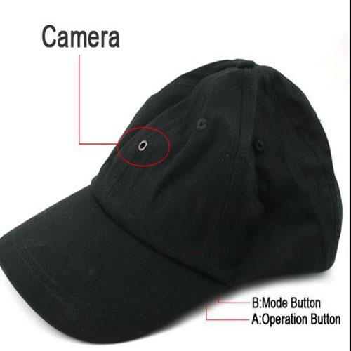 Mũ camera ngụy trang wifi xem từ xa qua điện thoại